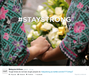 Malaysia Airlines  MAS  su Twitter